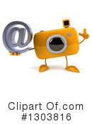 Camera Character Clipart #1303816 by Julos