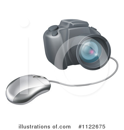 Photographer Clipart #1122675 by AtStockIllustration