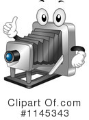Royalty-Free (RF) Camera Clipart Illustration #1145343