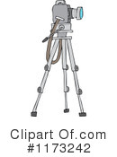 Royalty-Free (RF) Camera Clipart Illustration #1173242
