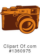 Camera Clipart #1360975 by patrimonio
