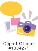Royalty-Free (RF) Camera Clipart Illustration #1384271