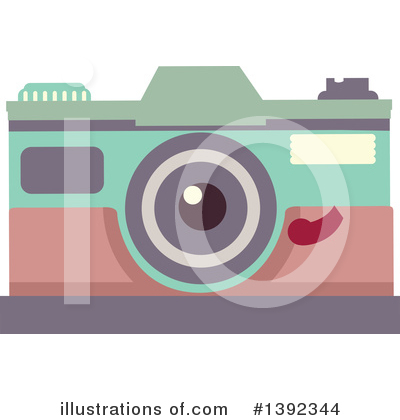 Royalty-Free (RF) Camera Clipart Illustration by BNP Design Studio - Stock Sample #1392344