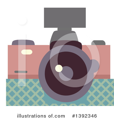 Royalty-Free (RF) Camera Clipart Illustration by BNP Design Studio - Stock Sample #1392346