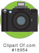 Camera Clipart #16954 by Maria Bell
