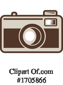 Camera Clipart #1705866 by patrimonio