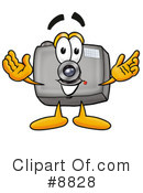 Camera Clipart #8828 by Toons4Biz