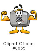 Camera Clipart #8865 by Toons4Biz