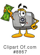 Camera Clipart #8867 by Toons4Biz