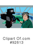 Camera Man Clipart #92613