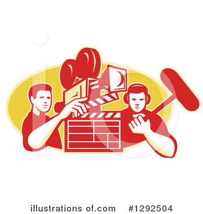 Video Camera Clipart #1292504 by patrimonio