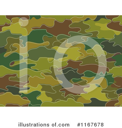 Camouflage Clipart #1167678 by BNP Design Studio