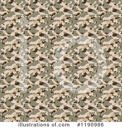 Camouflage Clipart #1190986 by Arena Creative
