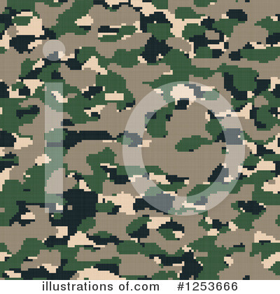 Camouflage Clipart #1253666 by Arena Creative