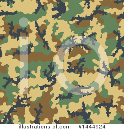 Royalty-Free (RF) Camouflage Clipart Illustration by Any Vector - Stock Sample #1444924