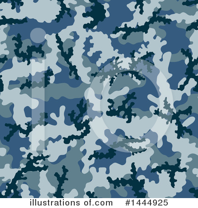 Camouflage Clipart #1444925 by Any Vector
