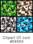 Camouflage Clipart #58953