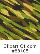 Royalty-Free (RF) Camouflage Clipart Illustration #88105