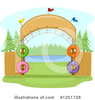 Camping Clipart #1251726 by BNP Design Studio