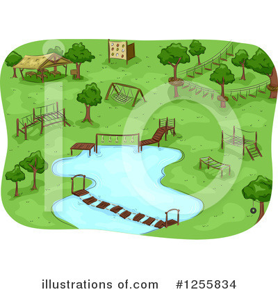 Summer Camp Clipart #1255834 by BNP Design Studio