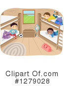 Royalty-Free (RF) Camp Clipart Illustration #1279028