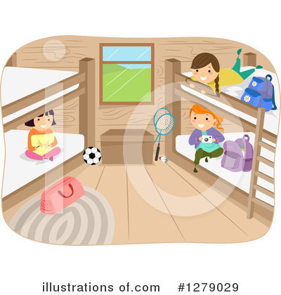 Summer Camp Clipart #1279029 by BNP Design Studio