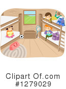 Royalty-Free (RF) Camp Clipart Illustration #1279029