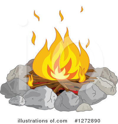Campfire Clipart #1272890 by Pushkin