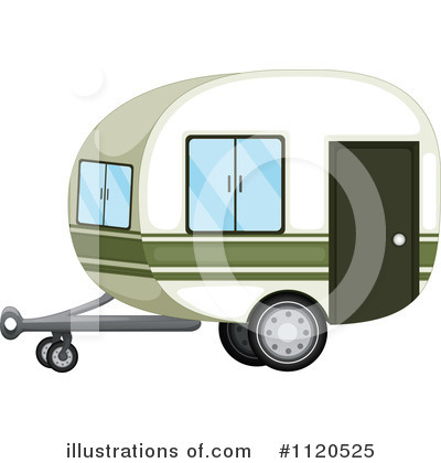 Camper Clipart #1120525 by Graphics RF