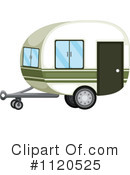 Royalty-Free (RF) camper Clipart Illustration #1120525