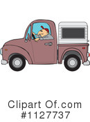 Royalty-Free (RF) camper Clipart Illustration #1127737