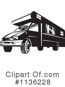 Royalty-Free (RF) camper Clipart Illustration #1136228
