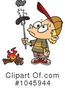 Royalty-Free (RF) Campfire Clipart Illustration #1045944