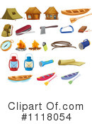 Royalty-Free (RF) camping Clipart Illustration #1118054