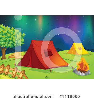 Northern Lights Clipart #1118065 by Graphics RF