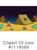 Camping Clipart #1118069 by Graphics RF