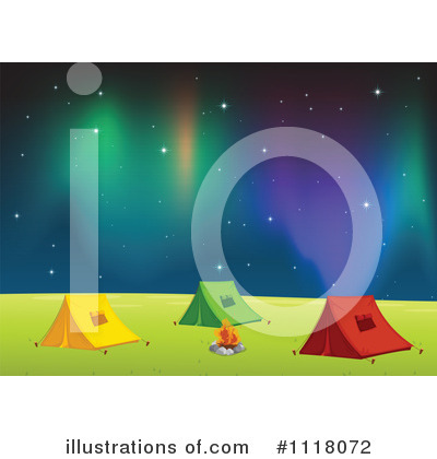 Northern Lights Clipart #1118072 by Graphics RF