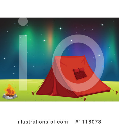 Northern Lights Clipart #1118073 by Graphics RF
