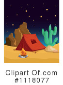 Royalty-Free (RF) camping Clipart Illustration #1118077