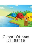 Royalty-Free (RF) camping Clipart Illustration #1158436