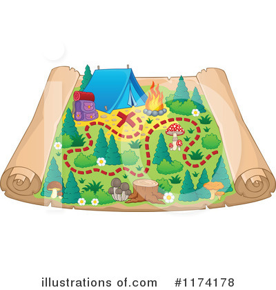 Camping Clipart #1174178 by visekart
