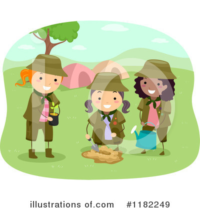 Scout Clipart #1182249 by BNP Design Studio