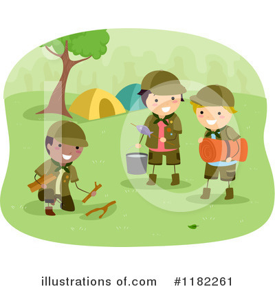 Scout Clipart #1182261 by BNP Design Studio