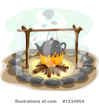 Camping Clipart #1234954 by BNP Design Studio