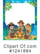 Royalty-Free (RF) Camping Clipart Illustration #1241884