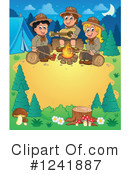 Royalty-Free (RF) Camping Clipart Illustration #1241887