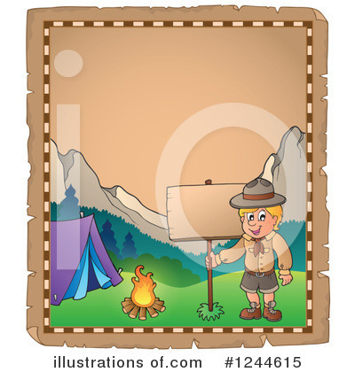 Boy Scout Clipart #1244615 by visekart