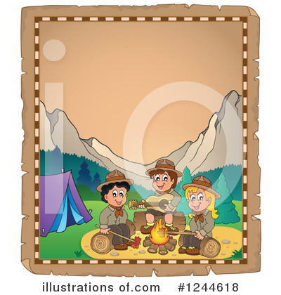Boy Scout Clipart #1244618 by visekart