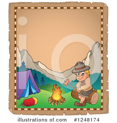 Boy Scout Clipart #1248174 by visekart