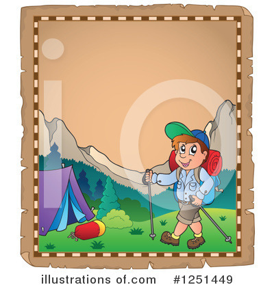Hiking Clipart #1251449 by visekart